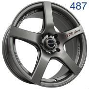 Sakura Wheels 487. 7.5x17, 4x100.00, 4x114.30, ET40, ЦО 73,1мм. Под заказ