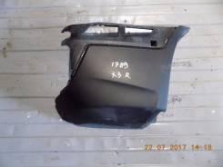 Накладка на бампер. BMW X3, E83