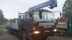 Isuzu Giga. Продам грузовик с монипулятором исузу гига, 17 000 куб. см., 15 000 кг.