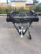 КРМЗ Двухосный Бизнес. Полуприцеп 2-х остный легковой, 1 500 кг.