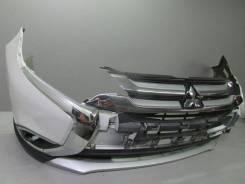 Накладка на бампер. Mitsubishi Outlander. Под заказ