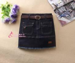 Юбки джинсовые. 38, 40, 42, 44. Под заказ