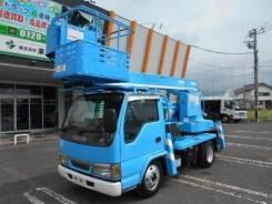 Isuzu Elf. , NKR81, автовышка, 14м. от компании JU Motors, 4 600 куб. см., 14 м. Под заказ