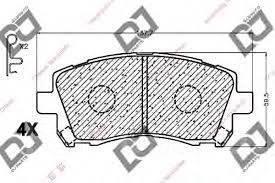 Колодка тормозная. Subaru Forester, SF5, SF9 Subaru Legacy, BD5, BE5, BE9, BEE, BG5, BH5, BH9, BHC, BHE Subaru Impreza, GC8, GF8 Двигатели: EJ201, EJ2...