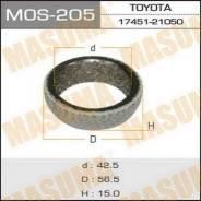 Кольцо глушителя MOS205, 56,5х42,5х15мм MASUMA (71122)
