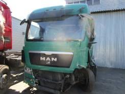 MAN TGX. 18.400 4*2 тягач, зеленый, 10 518 куб. см., 18 000 кг.