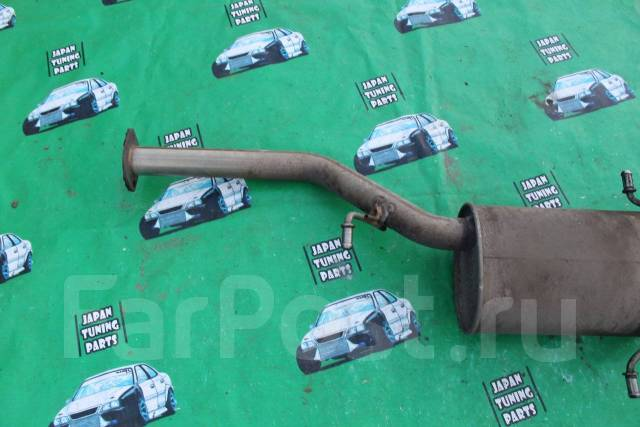Насадка на глушитель. Subaru Forester, SG5 Двигатель EJ205