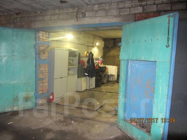 Гаражи капитальные. улица Леонова 33, р-н Эгершельд, 36 кв.м., электричество, подвал.