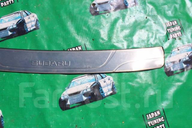 Накладка на бампер. Subaru Forester, SG9, SG9L, SG5