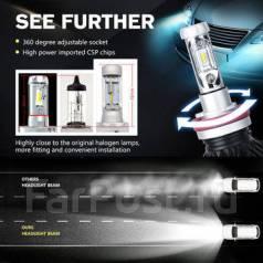 Яркие LED лампы 2017 | под замену галогена и ксенона | гарантия 1 год