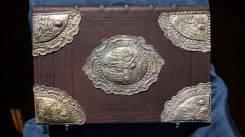 Большое напрестольное Евангелие. Россия, Москва, 1717 год. Оригинал
