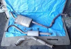 Выхлопная труба. Nissan Terrano, PR50, RR50 Nissan Terrano Regulus, JRR50 Двигатели: QD32TI, TD27, TD27TI