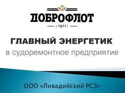 Главный энергетик. ООО Ливадийский РСЗ. Г Находка, Набережная, 32