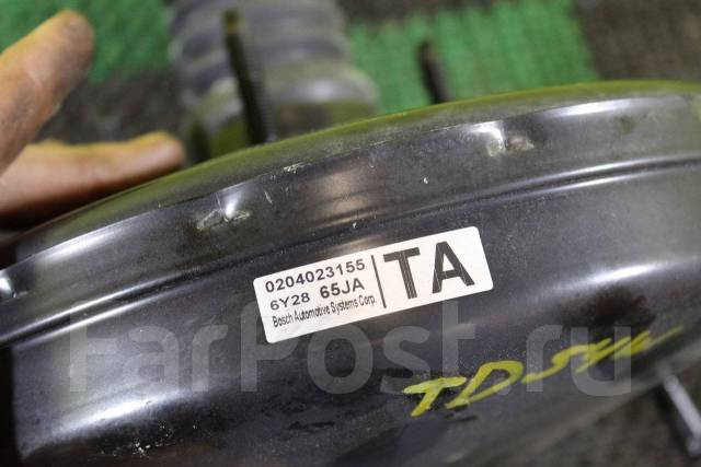 Вакуумный усилитель тормозов. Suzuki Grand Vitara, JT Suzuki Escudo, TA74W, TD94W, TD54W Двигатели: J24B, J20A, M16A, N32A