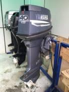 Yamaha. 40,00л.с., 2х тактный, бензин, нога L (508 мм), Год: 2004 год