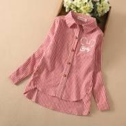 Рубашки школьные. Рост: 134-140, 140-146, 146-152, 152-158, 158-164, 164-170 см. Под заказ