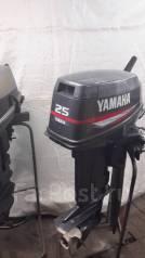 Yamaha. 25,00л.с., 2х тактный, бензин, нога S (381 мм), Год: 2003 год