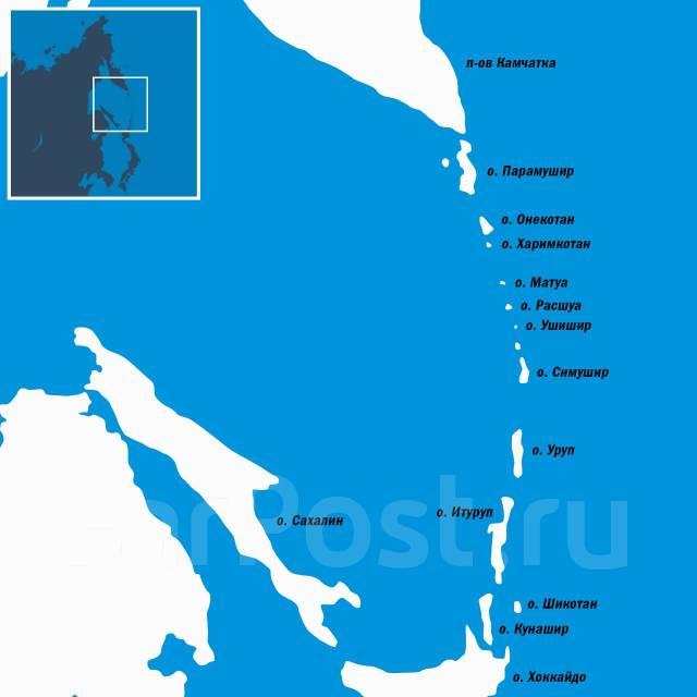 Регулярная доставка грузов морем на Курильские острова