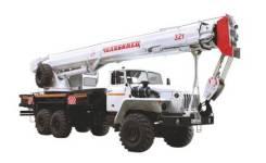 Урал 4320. КС 55733, 11 150 куб. см., 32 000 кг., 33 м.