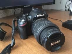 Nikon D3200 Kit. 20 и более Мп, зум: без зума