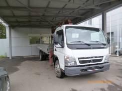 Mitsubishi Canter. Продается грузовик с КМУ Mitsubishi Fuso Canter, 4 980 куб. см., 3 500 кг., 10 м.