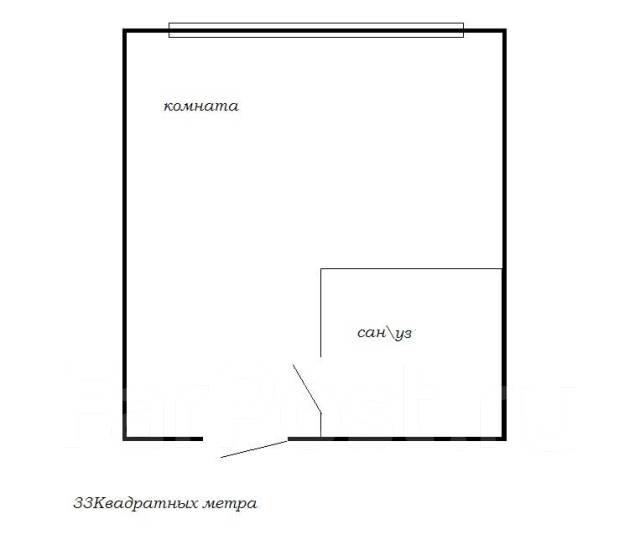 Гостинка, улица Островского 11. Толстого (Буссе), 13кв.м. План квартиры