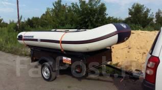 Лодка. Год: 2015 год, длина 3,80м., двигатель подвесной