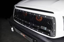 Решетка радиатора. Toyota Tundra, UPK56, USK52, UPK50, UPK51, USK57 Двигатели: 3URFE, 1URFE