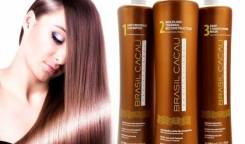 Кератиновое выпрямление/лечение волос