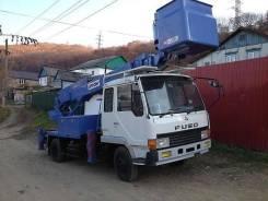 Mitsubishi Fuso. Автовышка , 6 500 куб. см., 23 м.