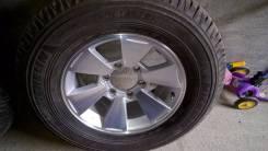 Колеса на Pajero Sport. 7.5x16 6x139.70 ET10 ЦО 108,0мм.
