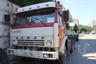 Камаз. Продам тягач 1990г дв-ль ЯМ 238 турбовой с полуприцепом, 14 960 куб. см., 20 000 кг.