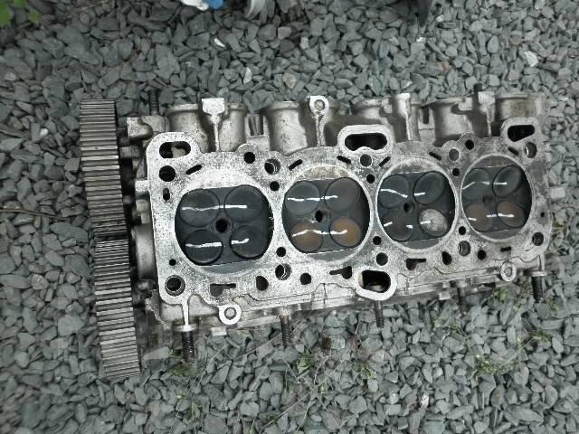 Головка блока цилиндров. Mitsubishi Galant, E35A Mitsubishi Eterna, E35A Двигатель 4G67