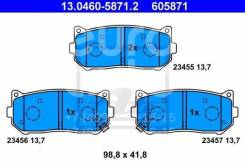 Колодка тормозная дисковая. Kia: Carens, Mentor, Clarus, Credos, X-Trek, Shuma, Elan, Sephia, Spectra Двигатель D4BB
