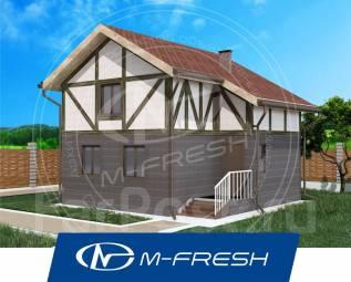 M-fresh Stand ART (Посмотрите готовый проект этого небольшого дома! ). до 100 кв. м., 2 этажа, 4 комнаты, каркас
