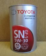 Toyota. Вязкость 5W30, синтетическое