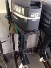 Yamaha. 30,00л.с., 2-тактный, бензиновый, нога L (508 мм), Год: 2000 год