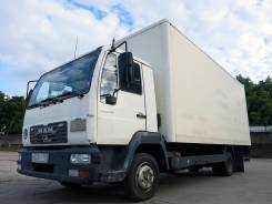 MAN TGL 8.180. MAN 8.180, фургон 36 м3, пятитонник, гидролифт, 3-х местный, 4 580 куб. см., 5 000 кг.