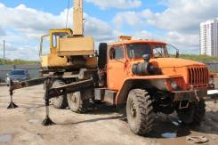 Ивановец КС-3574. Продаётся автокран Ивановец 14т на базе Урала, 14 000 кг., 16 м.
