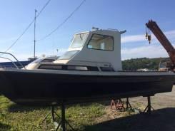 Yamaha Fish 22. длина 7,50м., двигатель подвесной, бензин