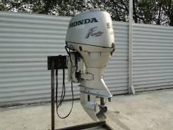 Honda. 50,00л.с., 4х тактный, бензин, нога S (381 мм), Год: 2006 год