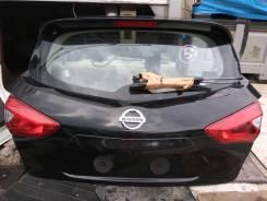 Крышка багажника. Nissan Tiida, C13