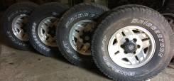 Колёса комплект Bridgestone Dueler A/T 31*10.5R15LT. 7.0x15 6x139.70 ET8 ЦО 108,0мм.
