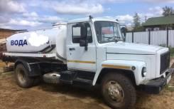 ГАЗ 3309. Продам Газ 3309 водовозка(новая), 4 750 куб. см., 4,20куб. м.