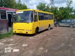 Isuzu Bogdan. Автобус Богдан с маршрутом, 11 000 куб. см., 24 места