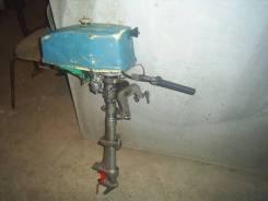 "Лодочный мотор ""спутник"". 2,50л.с., 2х тактный, бензин, нога S (381 мм), Год: 1977 год. Под заказ"
