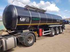 Foxtank. Полуприцеп-цистерна битумная 28000 литров Фокстанк, 1 000 куб. см., 28,00куб. м.