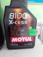 Motul 8100. 5W-40, синтетическое, 1,00л.