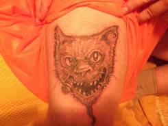 Сделать, обновить и внести коррекцию в татуировку