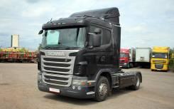 Scania G380. Тягач седельный, 13 000 куб. см., 14 000 кг.